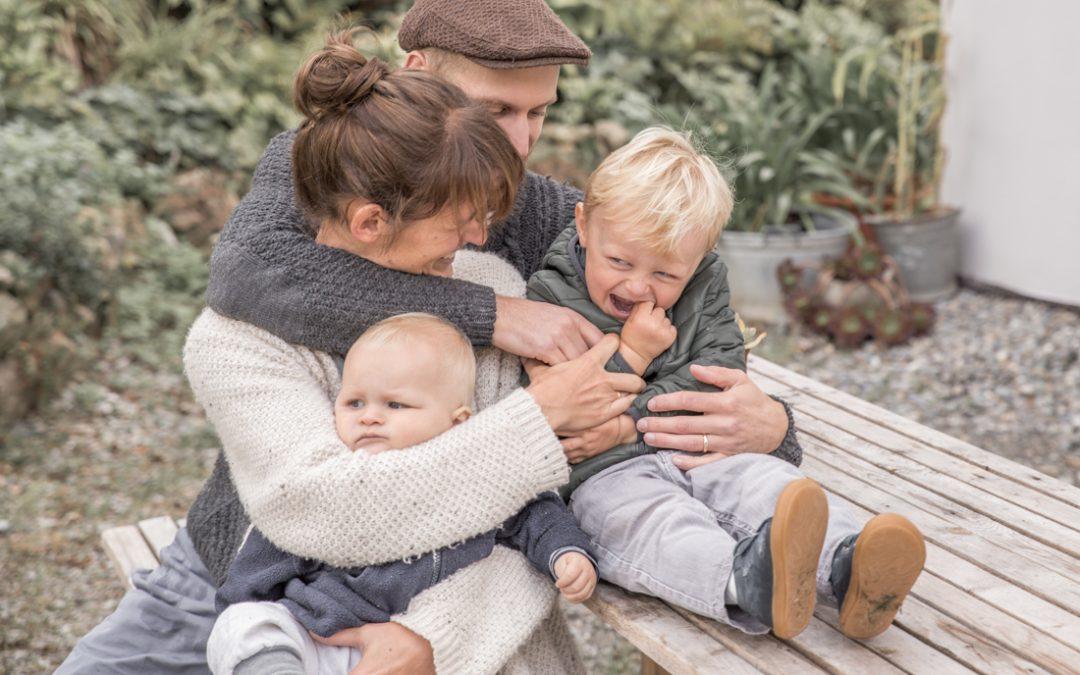 Familien-Homestory im Allgäu