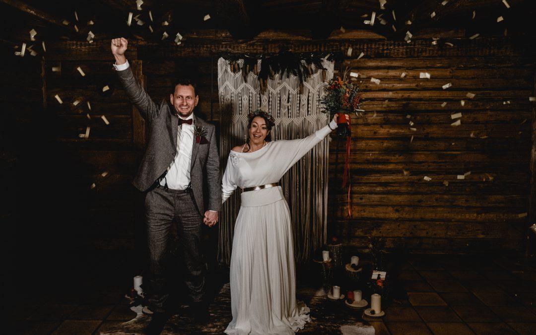 Inspiration Winterhochzeit – Lina & Henrik