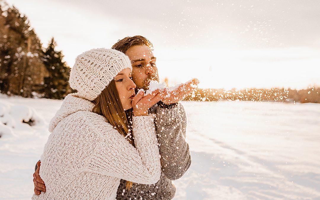 Lorena & Fabian – Winterpaarshooting